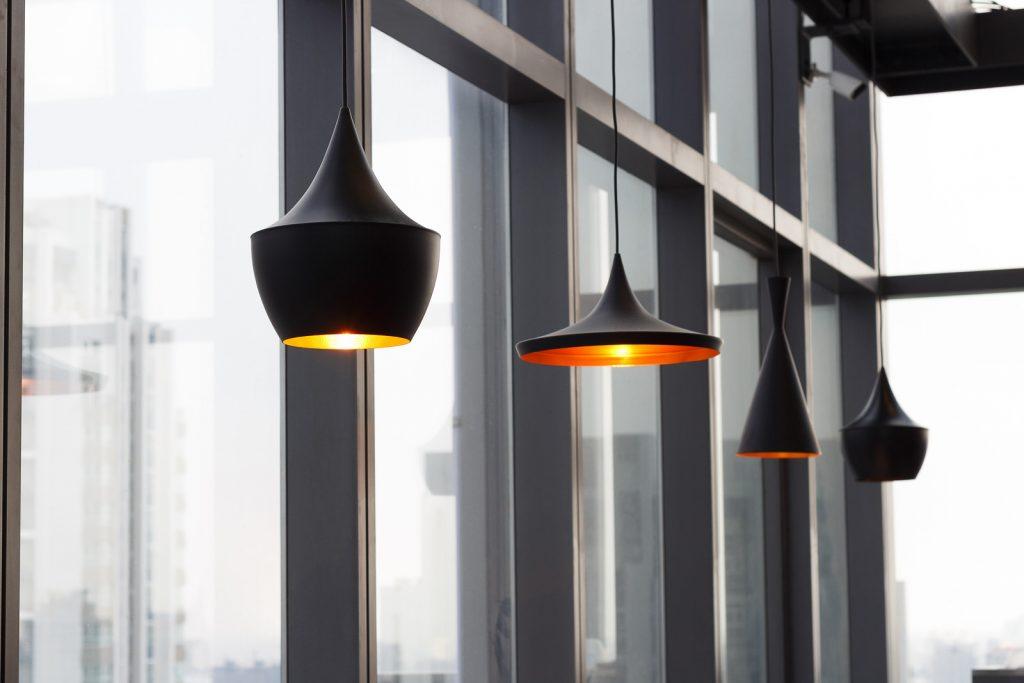 Diferentes tipos de lámparas