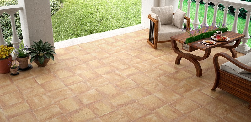 suelo para terraza de cerámica